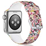 KOLEK Flower Band Compatible with Apple Watch