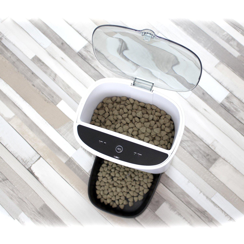 Comedero automático para mascotas Yatek Petwant que funciona con el móvil por solo 145€