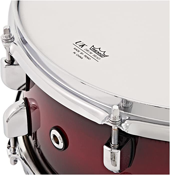 Pack de 4 Cascos de Bateria WHD Rock de Abedul - Red Burst: Amazon.es: Instrumentos musicales