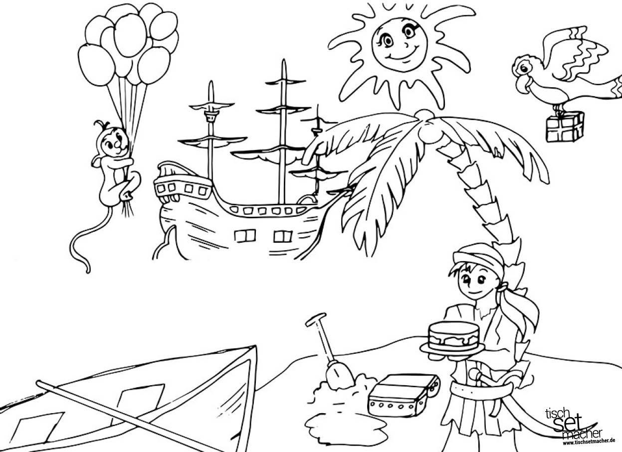 Ausmalbilder Fußball Stars : Tischsets I Platzsets Ausmalbilder F R Kinder Pirat Elfe
