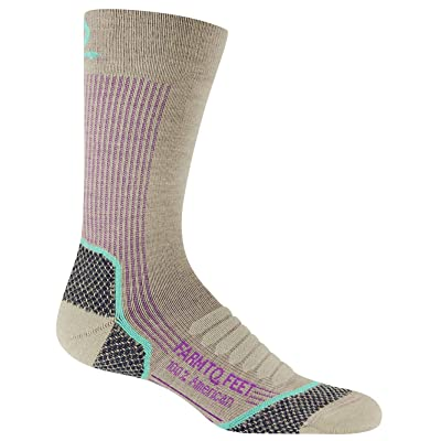 .com : Farm to Feet Damascus Midweight Elite Hiking Crew Merino Wool Sock : Clothing