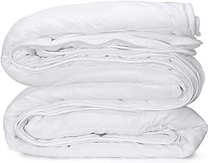 "Celeep Thin Duvet Insert (King - 102""x 90"") - White, All Season Down Alternative Comforter Insert, Hypoallergenic, Soft, Plush Microfiber Fill, Machine Washable, King Size"