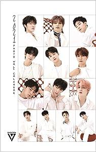 Seventeen 2021 New Wall Calendar + IDOLPARK Gift (Special SVT Photocards Set)
