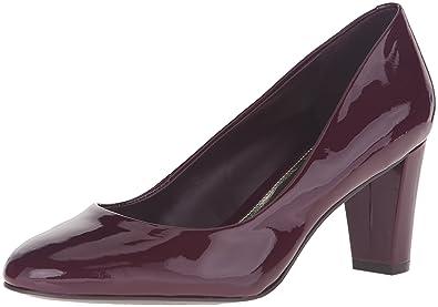 Lauren Ralph Lauren Women's Hala Dress Pump, Claret Patent Leather, ...