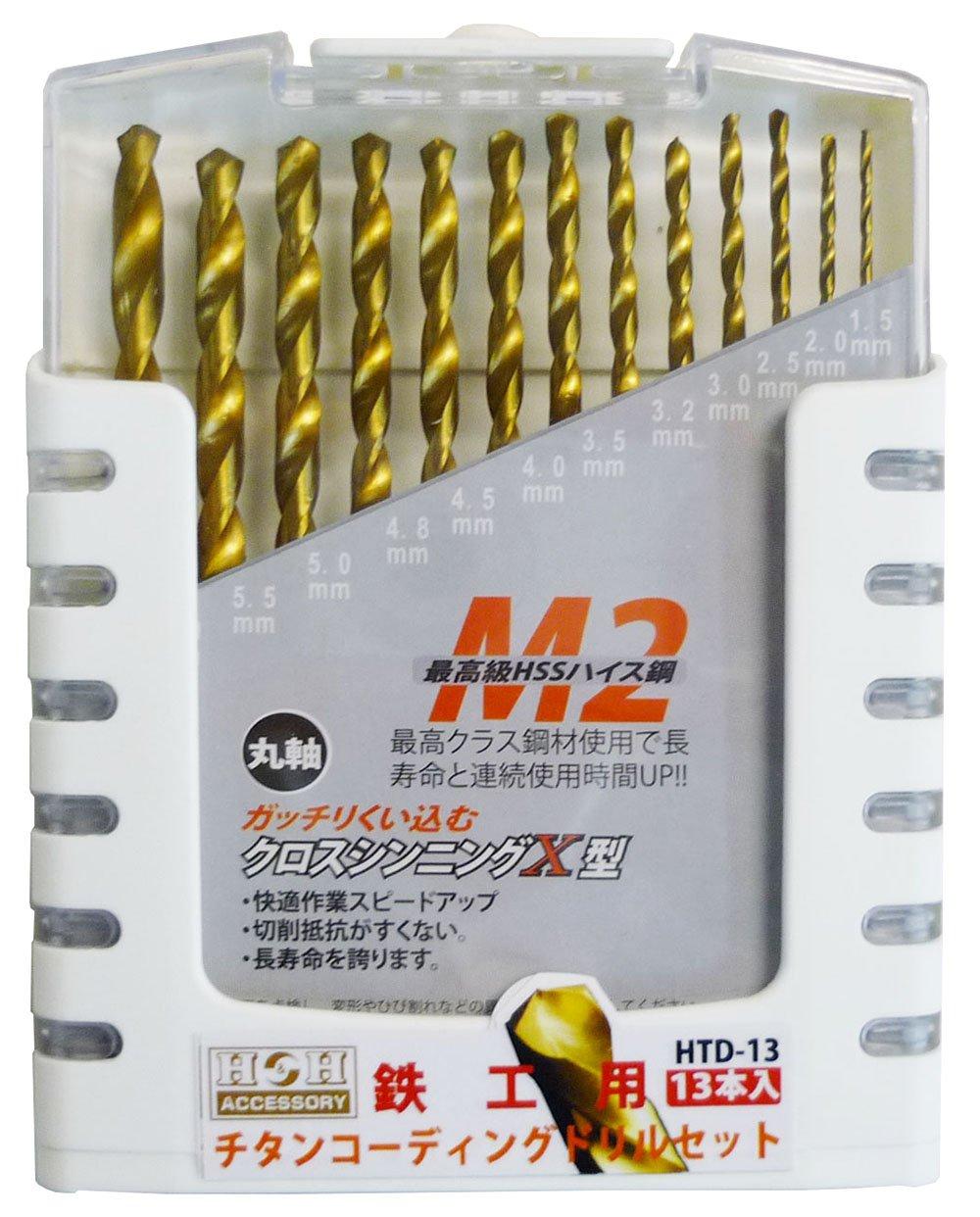 三共コーポレーション ドリルセット HTD-13