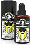 Spartan Beard Co Beard Oil For Men | 7 Premium Essential Oils Crafted For Beard, Face And Skin Health | Beard Conditioner & Beard Growth Serum | Join The Elite Way Of Beard Care