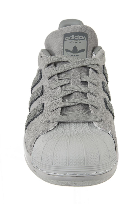 adidas Superstar Bounce, Chaussures de Fitness Homme, Gris (Griuno/Gris/Gricin), 45 1/3 EU