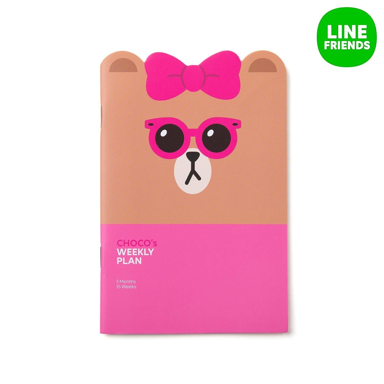 Amazon.com : LINE FRIENDS Brown Cony Sally Choco Weekly ...
