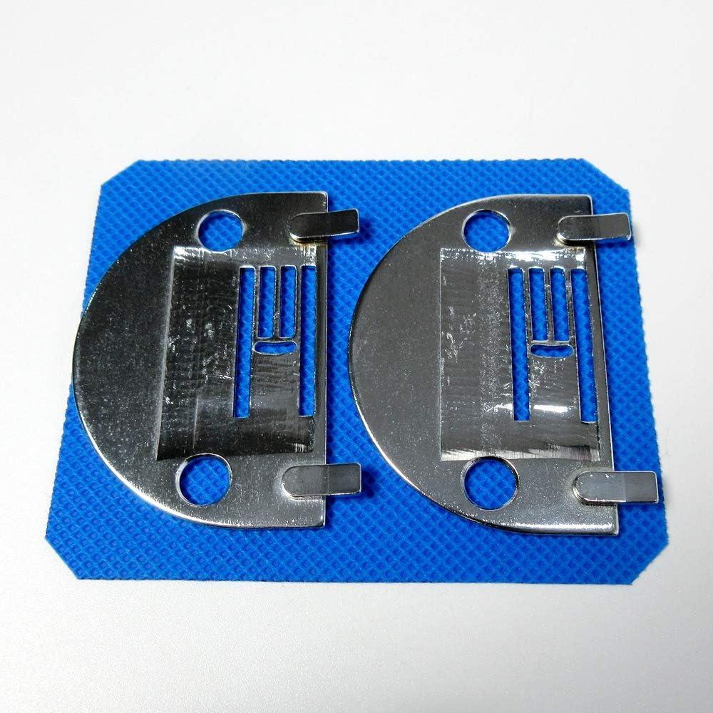 pour machines /à coudre Brother Nz-5Lg Lot de 2 plaques daiguille #Nz5Lg Nelco Home