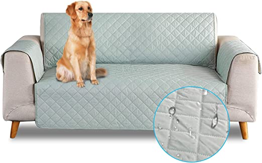 PETCUTE Sofa Fundas de sillones Impermeable Cubre sillones Fundas para sillones Fundas de Sofa 1 Plaza para Perros Gatos Vert: Amazon.es: Productos para mascotas