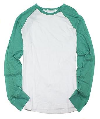 d67b1c6bf7971 Amazon.com  American Eagle Men s Long Sleeve Plain Basic T-Shirt M-16   Clothing