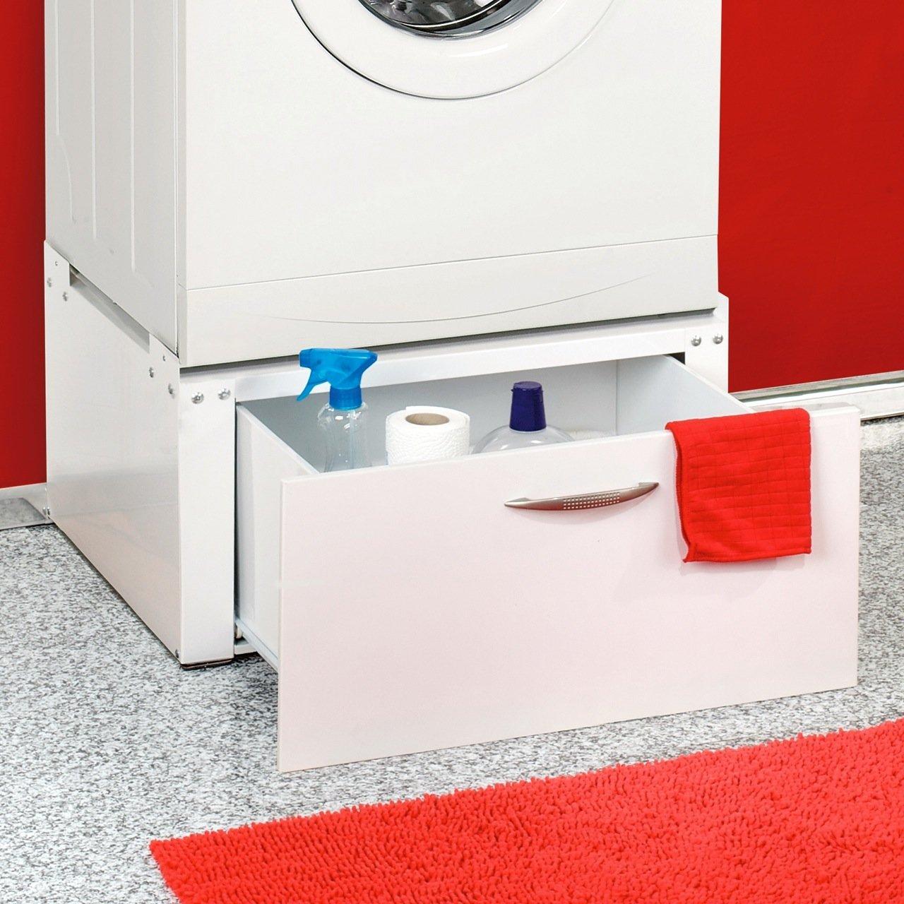 Waschmaschinen / Trockner Untergestell mit Schublade unterbau Podest ...