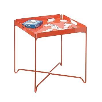 Amazing Sauder Soft Modern Tray Table, Orange Blush