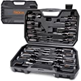 TACKLIFE Screwdriver Set,18pcs Magnetic Slotted/Phillips Screwdrivers and Acetate Hard Grip Handle Screwdriver with Case…