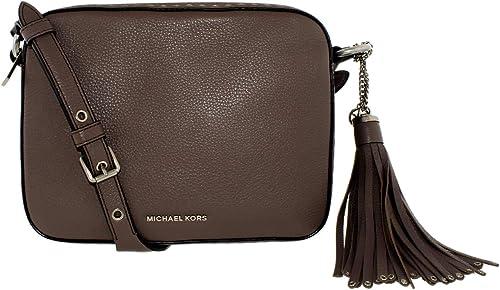 Michael Kors Brooklyn Leather Camera Bag
