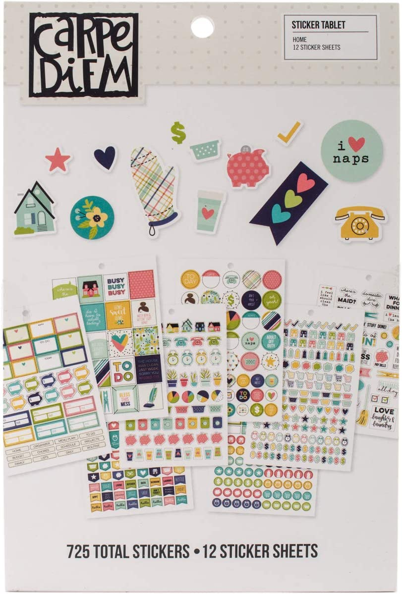 Simple Stories Home Sticker Tablet