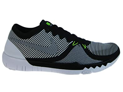 buy popular 102d5 7df49 Nike Mens Free Trainer 3.0 V4 Black White Synthetic Cross Trainers Shoes -  muwi-duesseldorf.de