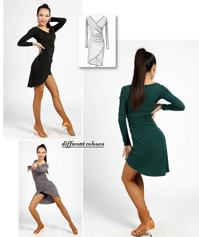 Amazon.com: G3027 - Vestido de baile, diseño de cruz en ...