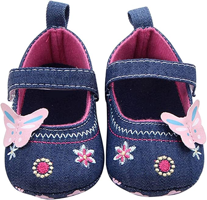 Amazon.com: Zapatos de bebé para caminar para 0 – 18 meses ...