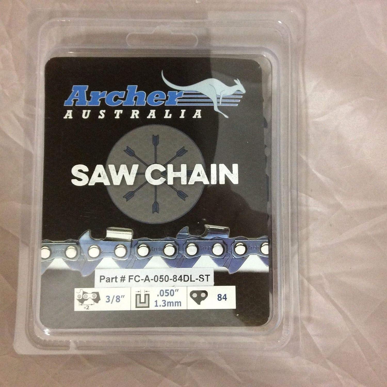 "24/"" Archer Chainsaw Chain 3//8/"" .050 84DL FULL CHISEL  Husqvarna Stihl 72LGX084G"