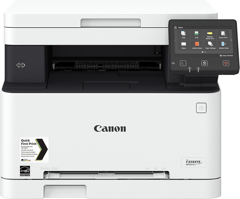 Impresora láser multifunción color Canon i-Sensys MF631Cn blanca ...