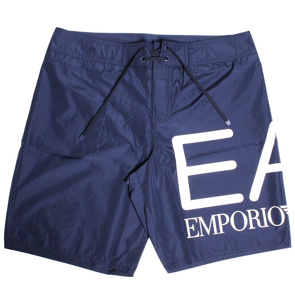 (エンポリオアルマーニ イーエーセブン) EMPORIO ARMANI EA7 水着 902003 B07F12W2V4 48|ネイビー(32235) ネイビー(32235) 48