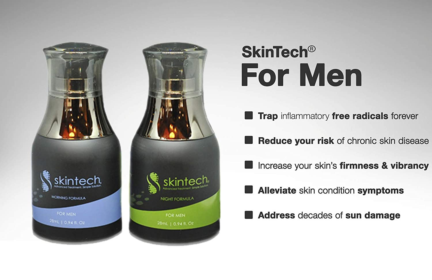 Amazon Com Skintech Mens Skin Care Kit All In One Mens Face