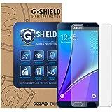 Verre Trempé Galaxy Note 5, G-Shield Film Protection en Verre Trempé écran Protecteur [Ultra Résistant Dureté 9H] [Anti Rayures] [Sans Bulles D'Air] Pour Samsung Galaxy Note 5
