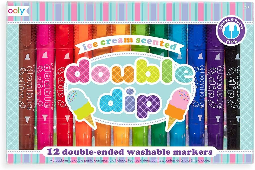 OOLY, Double Dip Scented Markers, Set of 12 (130-042)