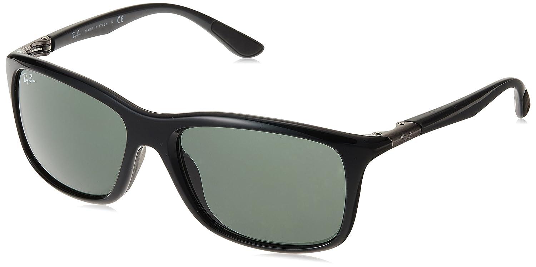 99d6c61dbb9 Amazon.com  Ray-Ban Mens Sunglasses Black Grey Nylon - Non-Polarized -  57mm  Shoes