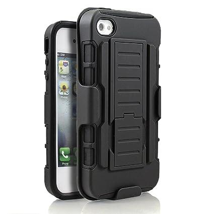 Apple iPhone 5 5S Hybrid Case Rugged Impact Armor Hybrid