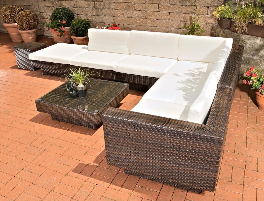 Poly Rattan Gartenmobel ~ Clp poly rattan gartenmöbel lounge set tunis sitzplätze lounge