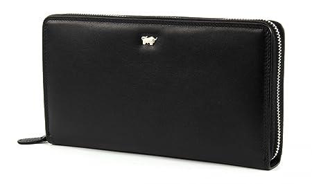 136067efad49 Braun Büffel Golf Zip Around Purse Black  Amazon.co.uk  Shoes   Bags