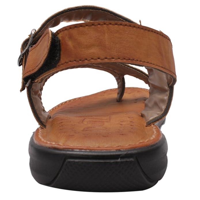 Shree Shoe Men's Leather Sandal