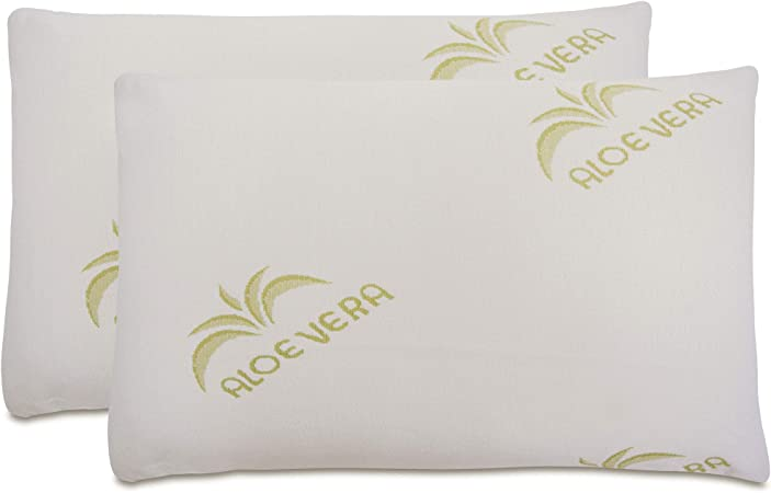 Aloe Vera Pillow Pair | Homebase