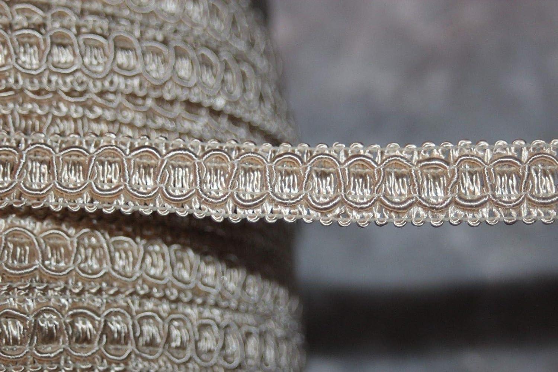 $1 Yard Cream Tan Ivory GIMP Braid Braided Sewing Upholstery Craft Trim 5//8