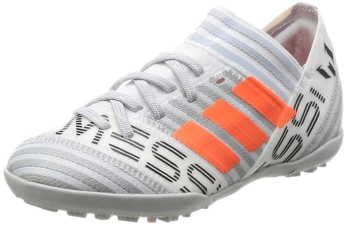 adidas Nemeziz Messi Tango 17.3 TF J, Zapatillas de Fútbol para Niñas, (FTWR White/Solar Orange/Core Black), 35.5 EU: Amazon.es: Zapatos y complementos