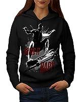 Skater Grind It Fashion Women S-2XL Hoodie | Wellcoda