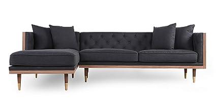 Fine Amazon Com Kardiel Midcentury Modern Woodrow Neo Sofa Cjindustries Chair Design For Home Cjindustriesco