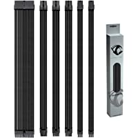 Reaper Cable Sleeved PSU Extension Set - Power Supply Extensions - 1x 24 Pin/ 2X 8 Pin/ 2X 6 Pin/ 1x 4+4 Pin - with…