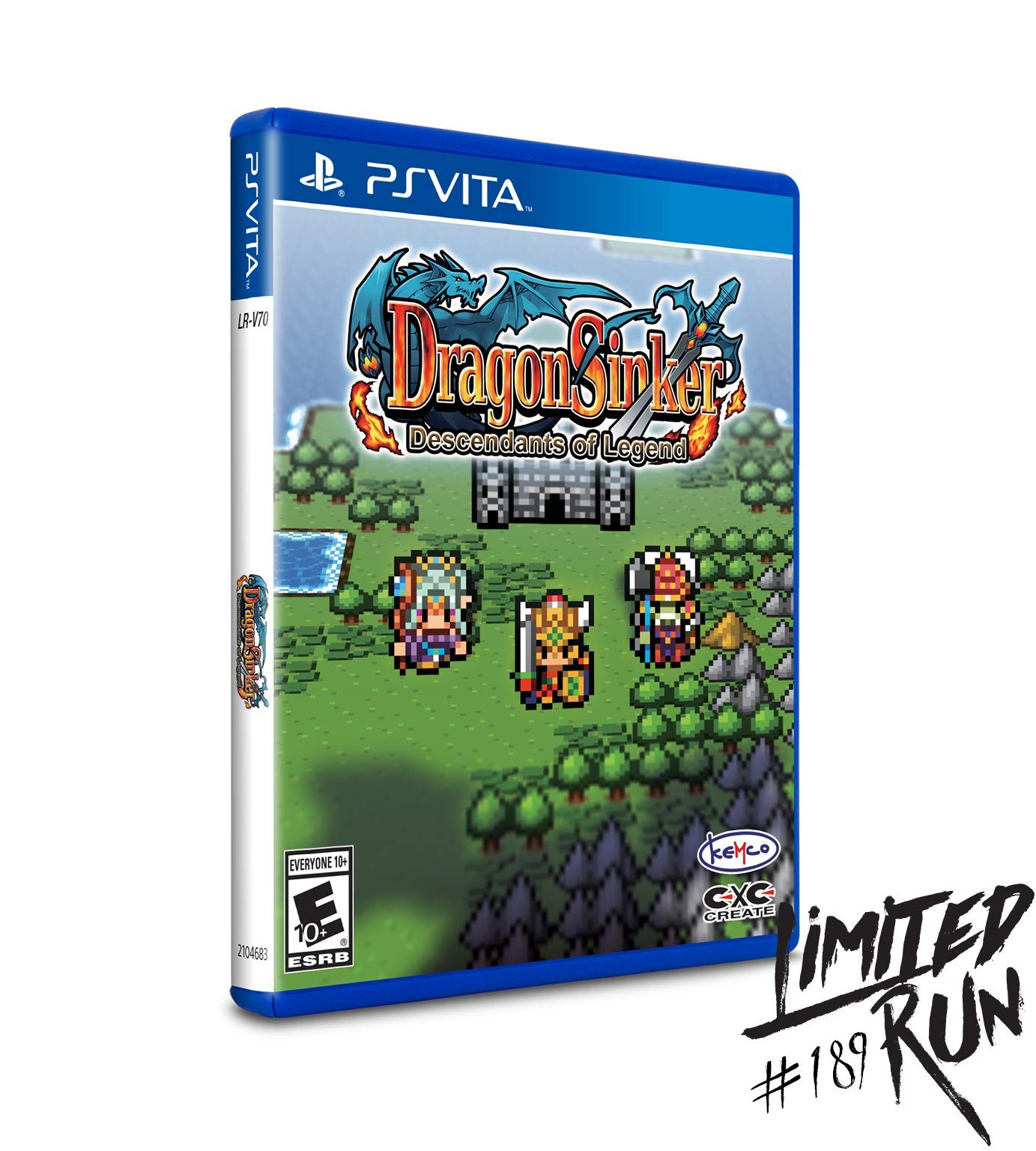 Dragon Sinker: Descendants of Legend (Limited Run #189) - PlayStation Vita