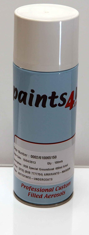 Paints4u Ral 840 Hr 400 Ml Aérosol Fini Satiné Couleur Seidengrau