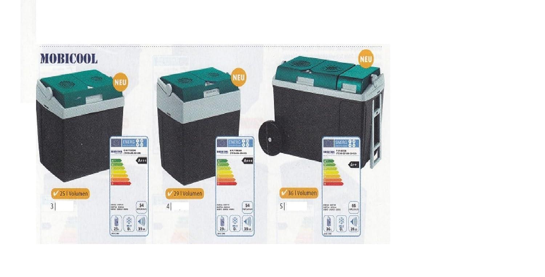Borsa frigo termoelettrica Ezetil E 32 – Capacità 29 litri – Borsa Frigo con adattatore da 12 Volt e 230 Volt connettore – Vendite – Holly® prodotti stabielo® – Holly di Sunshade® – Sistema brevettato di innovazioni nel