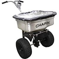 Chapin International Chapin 82500 100-Pound Stainless Steel Professional Salt Spreader, Silver