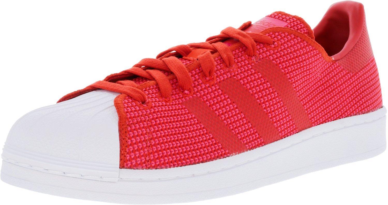 Adidas Originals Unisex-Erwachsene Superstar Weave ROT Sneaker, Navy Weiß Bleu ROT Weave / Core Pink / Footwear Weiß 986cb8
