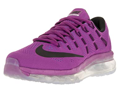 Nike Womens Air Max 2016 Hyper Violet/Black/Gmm Bl/Wht Running Shoe