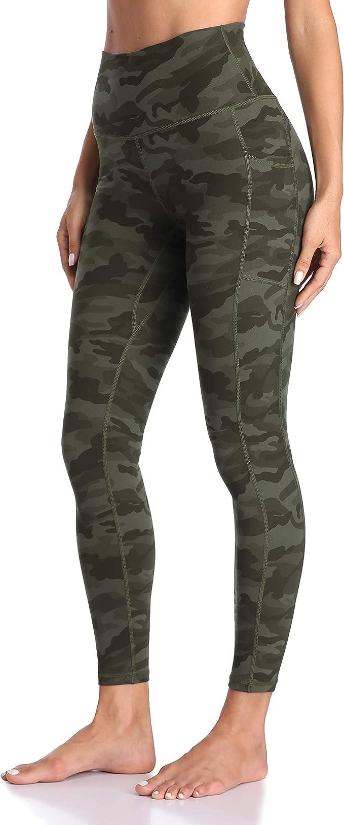Colorfulkoala Women's High Waisted Yoga Pants 7/8 Length Leggings with Pockets   Amazon