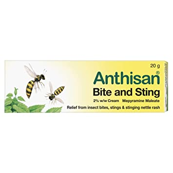 Anthisan Bite & Sting Cream, 20 g