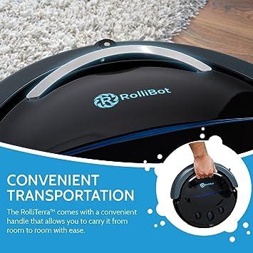 Rollibot Aspiradora robótica -Limpieza automática de Forma fácil: Amazon.es: Hogar