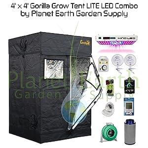 Gorilla Grow Tent LITE 4'x4'